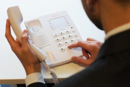 Agent 1000 Basic Telephone in white