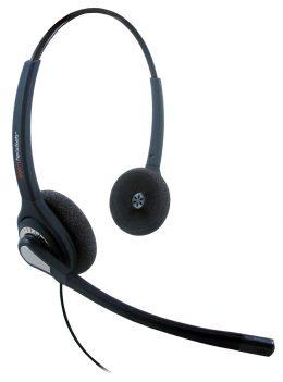 Agent 402 Binaural Headset - Plantronics QD