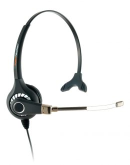 Agent 500 Monaural Voice Tube Headset Top Only